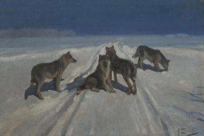 Wolves-Alexei Stepanovich Stepanov-Giclee Print