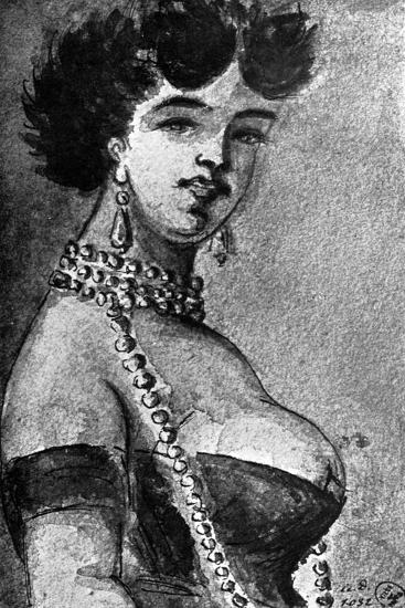 Woman, 19th Century-Constantin Guys-Giclee Print