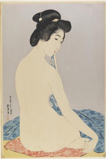 Woman after Bath, July 1920-Goyo Hashiguchi-Giclee Print