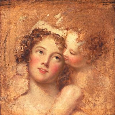 Woman and Child-Thomas Lawrence-Giclee Print