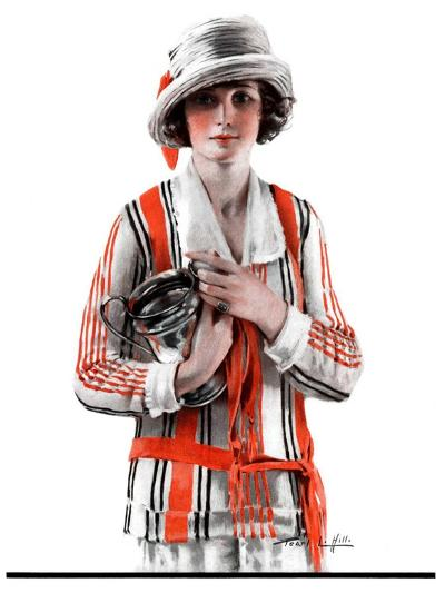 """Woman and Trophy,""September 1, 1923-Pearl L^ Hill-Giclee Print"