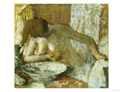 Woman at Her Toilet, circa 1897-Edgar Degas-Giclee Print