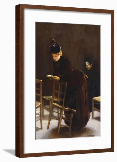 Woman at Prayer; Femme En Priere-Jean Béraud-Framed Giclee Print