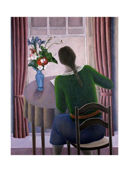 Woman at Window, 1998-Ruth Addinall-Giclee Print