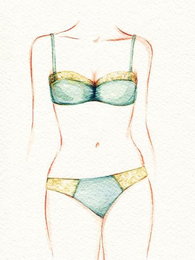 Woman Body. Underwear-Anna Ismagilova-Photographic Print