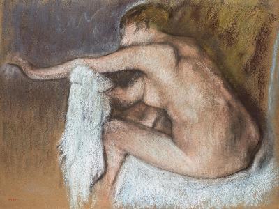 Woman Drying Her Arm, Circa 1884-Edgar Degas-Giclee Print