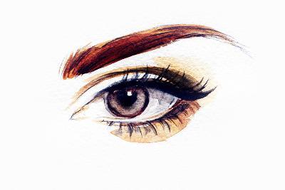 Woman Eye-Anna Ismagilova-Photographic Print