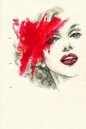 woman-face-paintedillustration