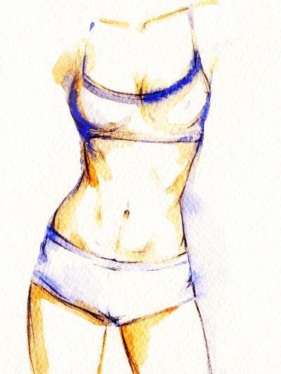 Woman Fitness Body-Anna Ismagilova-Photographic Print