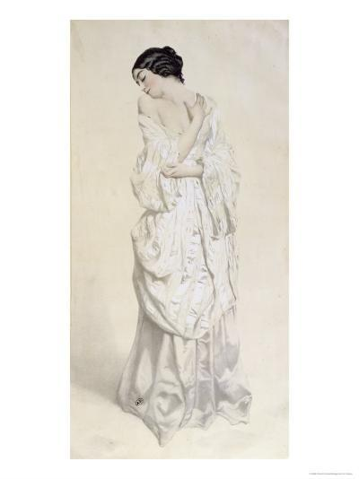 Woman in a Dressing Gown--Giclee Print
