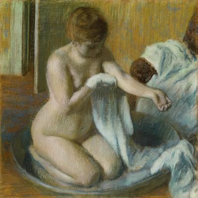 Woman in a Tub-Edgar Degas-Giclee Print