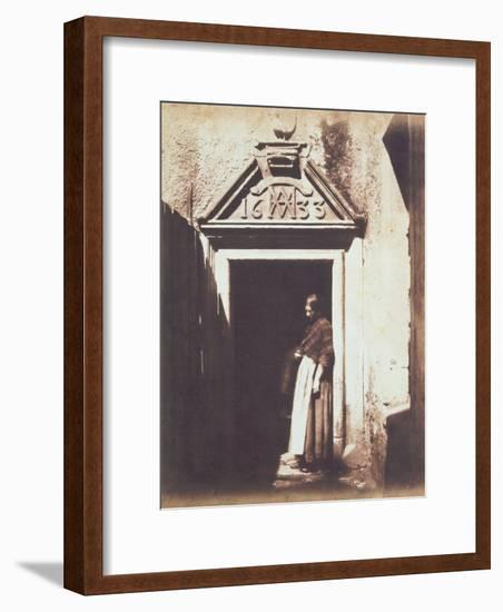 Woman in Doorway, C.1854-Thomas Keith-Framed Photographic Print