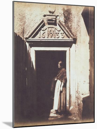 Woman in Doorway, C.1854-Thomas Keith-Mounted Photographic Print