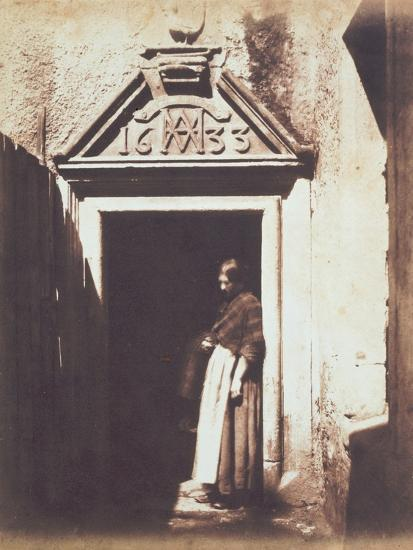 Woman in Doorway, C.1854-Thomas Keith-Photographic Print