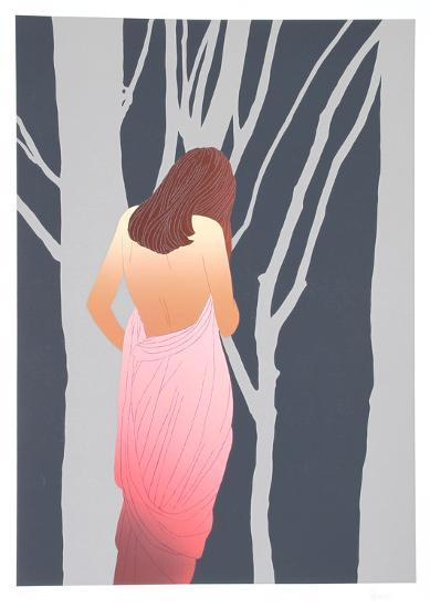 Woman in Forest-Derrick Brown-Limited Edition