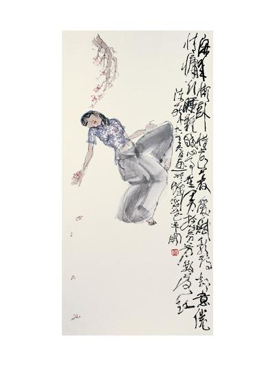 Woman in Leisure-Zui Chen-Giclee Print