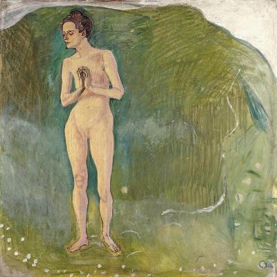 Woman in the Stream, 1903-Ferdinand Hodler-Giclee Print
