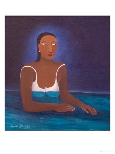 Woman in Water, 2004-Laura James-Giclee Print
