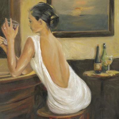 Woman in White 2-Sandra Smith-Art Print