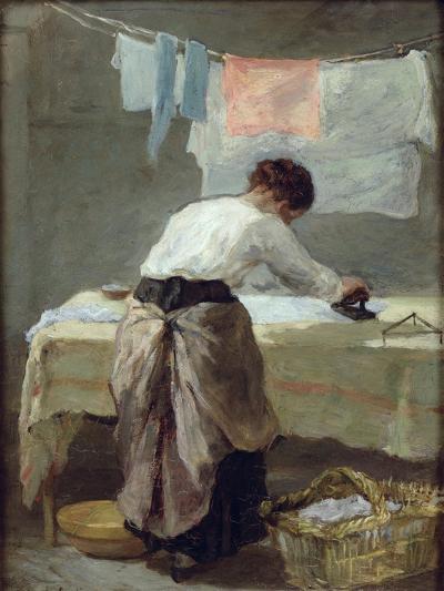 Woman Ironing-Armand Desire Gautier-Giclee Print