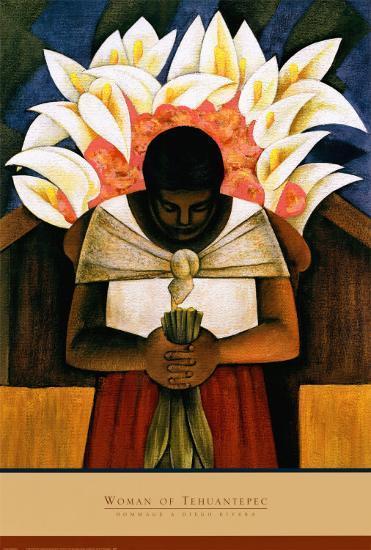 Woman of Tehuantepec-Fernando Diaz-Art Print