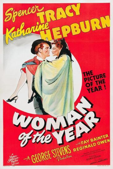 Woman of the Year, 1942--Giclee Print