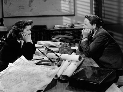 Woman Of The Year, Katharine Hepburn, Spencer Tracy, 1942--Photo