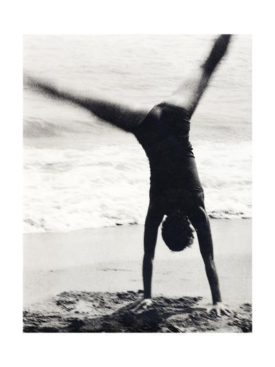 Woman Playing-Cristina-Giclee Print