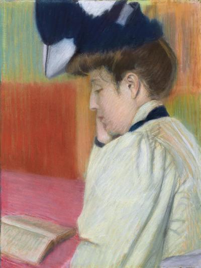 Woman Reading; Femme Lisant, C. 1890-Federigo Zandomeneghi-Giclee Print