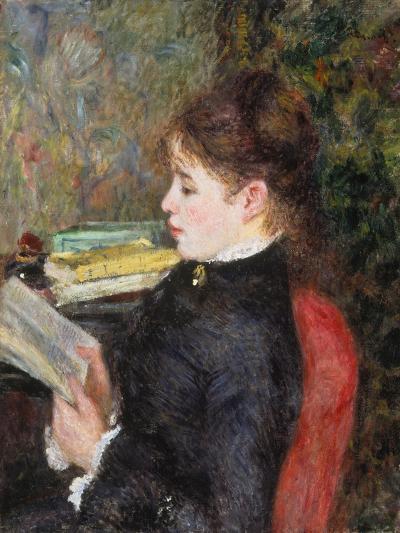Woman Reading-Pierre-Auguste Renoir-Giclee Print