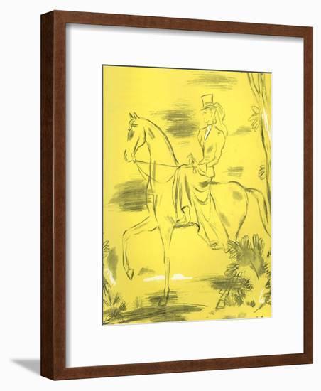 Woman Riding, 1939, UK--Framed Giclee Print