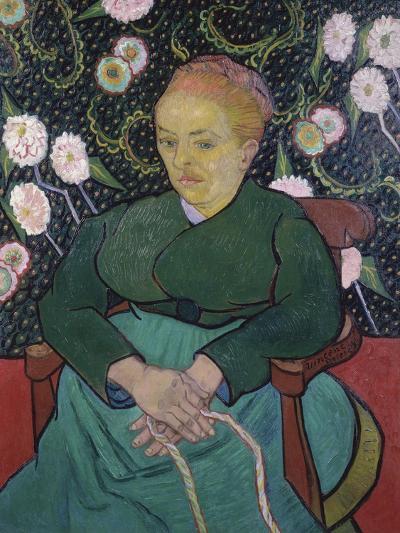Woman Rocking a Cradle-Vincent van Gogh-Giclee Print