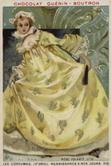 Woman's Dress, 1715--Giclee Print