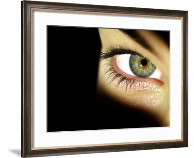 Woman's Eye-Science Photo Library-Framed Photographic Print