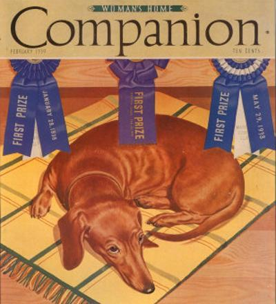 Woman's Home Companion, Dogs Magazine, USA, 1930
