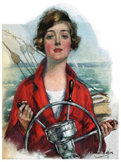 """""""Woman Sailor,""""October 15, 1927-William Haskell Coffin-Giclee Print"""