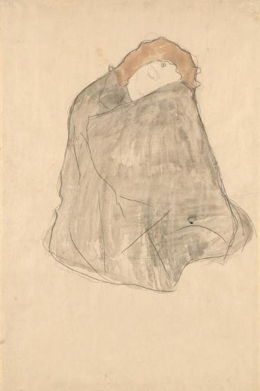 Woman Seated, 1908-1909-Gustav Klimt-Giclee Print
