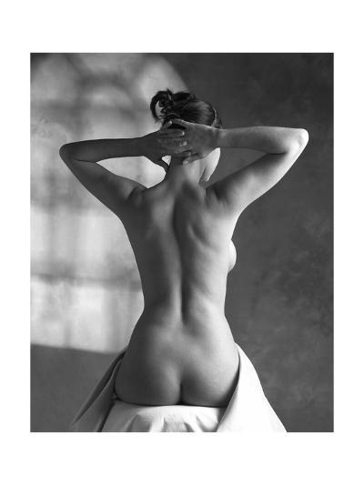 Woman Stretching-Tony McConnell-Giclee Print