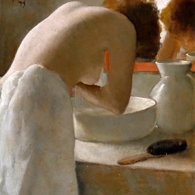 Woman Washing-Armand Rassenfosse-Giclee Print