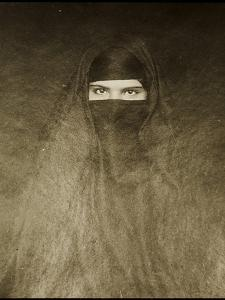 Woman Wearing a Burqa, Early 20th Century