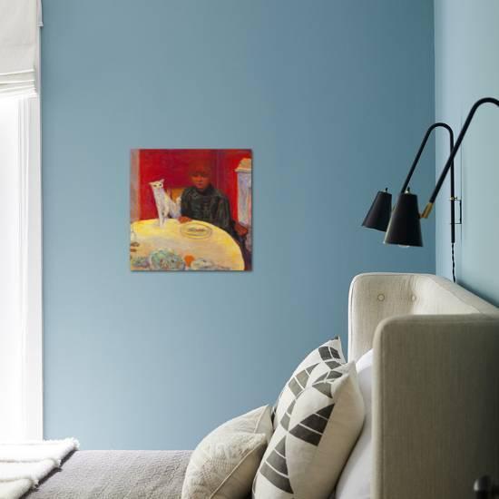 Woman With A Cat Giclee Print Pierre Bonnard Art Com
