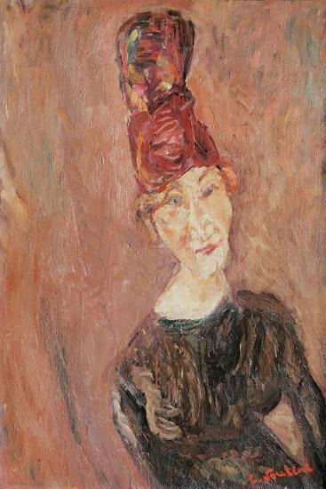 Woman with a Hat, 1926-Chaim Soutine-Giclee Print