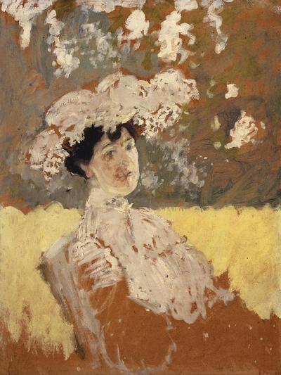 Woman with a Hat; Femme Avec Un Chapeau-Edouard Vuillard-Giclee Print