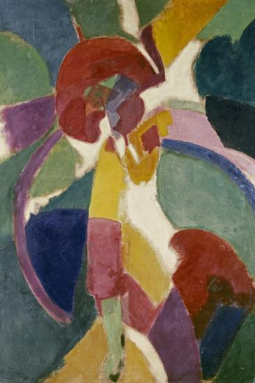 Woman with a Parasol, 1913-Robert Delaunay-Giclee Print