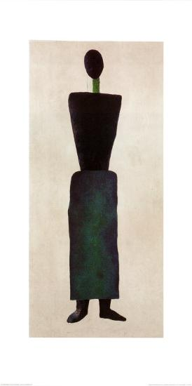 Womanfigure-Kasimir Malevich-Art Print