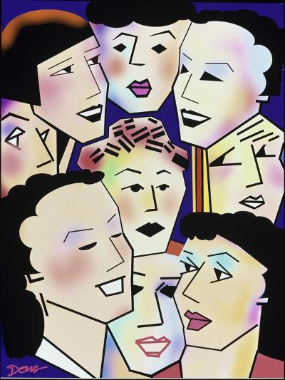 Womans' Group-Diana Ong-Giclee Print