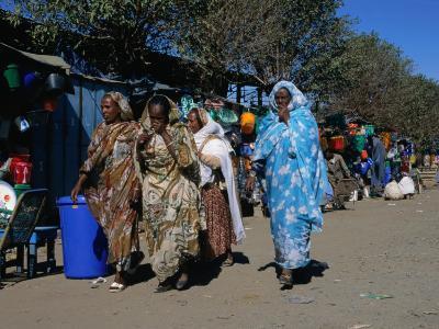 Women at Hardware Market, Asmara, Eritrea-Patrick Syder-Photographic Print
