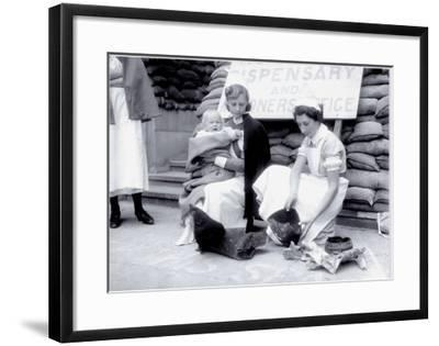 Women at War: Nurses--Framed Art Print