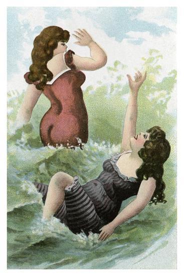 Women Bathing, Early 20th Century--Giclee Print