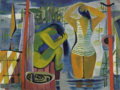 Women by a Lake, C.1945-50-Anneliese Everts-Giclee Print